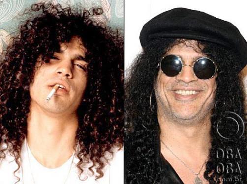 Astros do rock antes e depois A355bef655ede58d